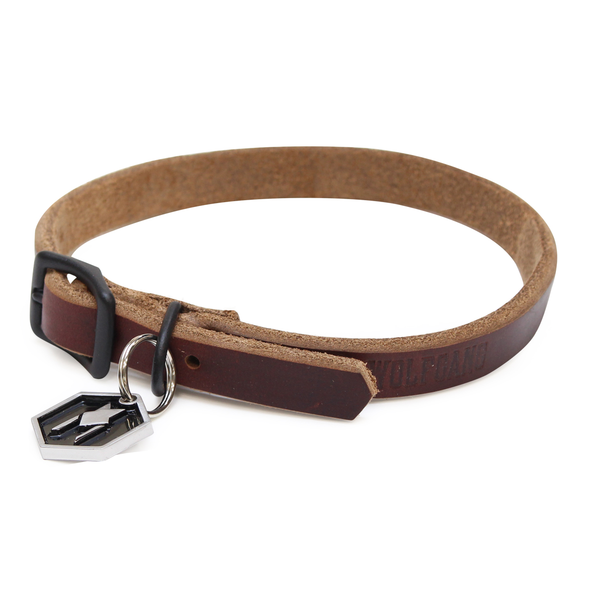 Horween LEATHER COLLAR ( XS size )
