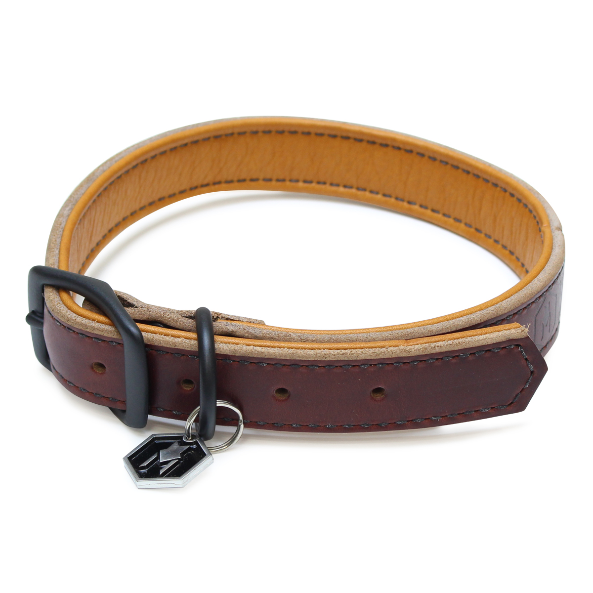 Horween LEATHER COLLAR ( L size )