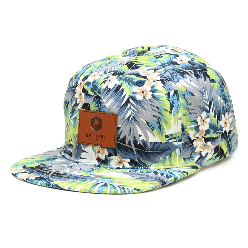 Canopy Snapback Hat ( Tropical Floral )