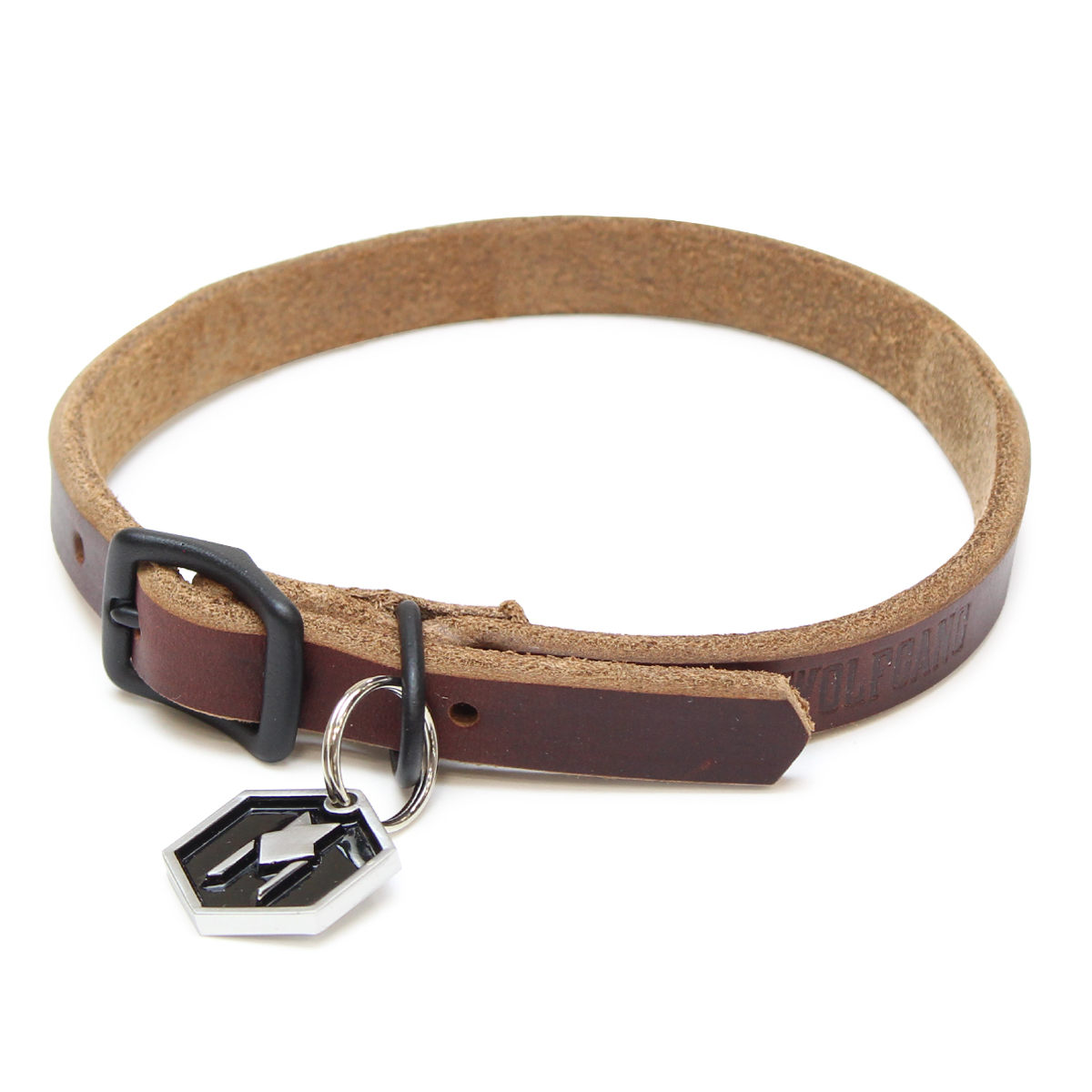 Horween LEATHER COLLAR ( S size )
