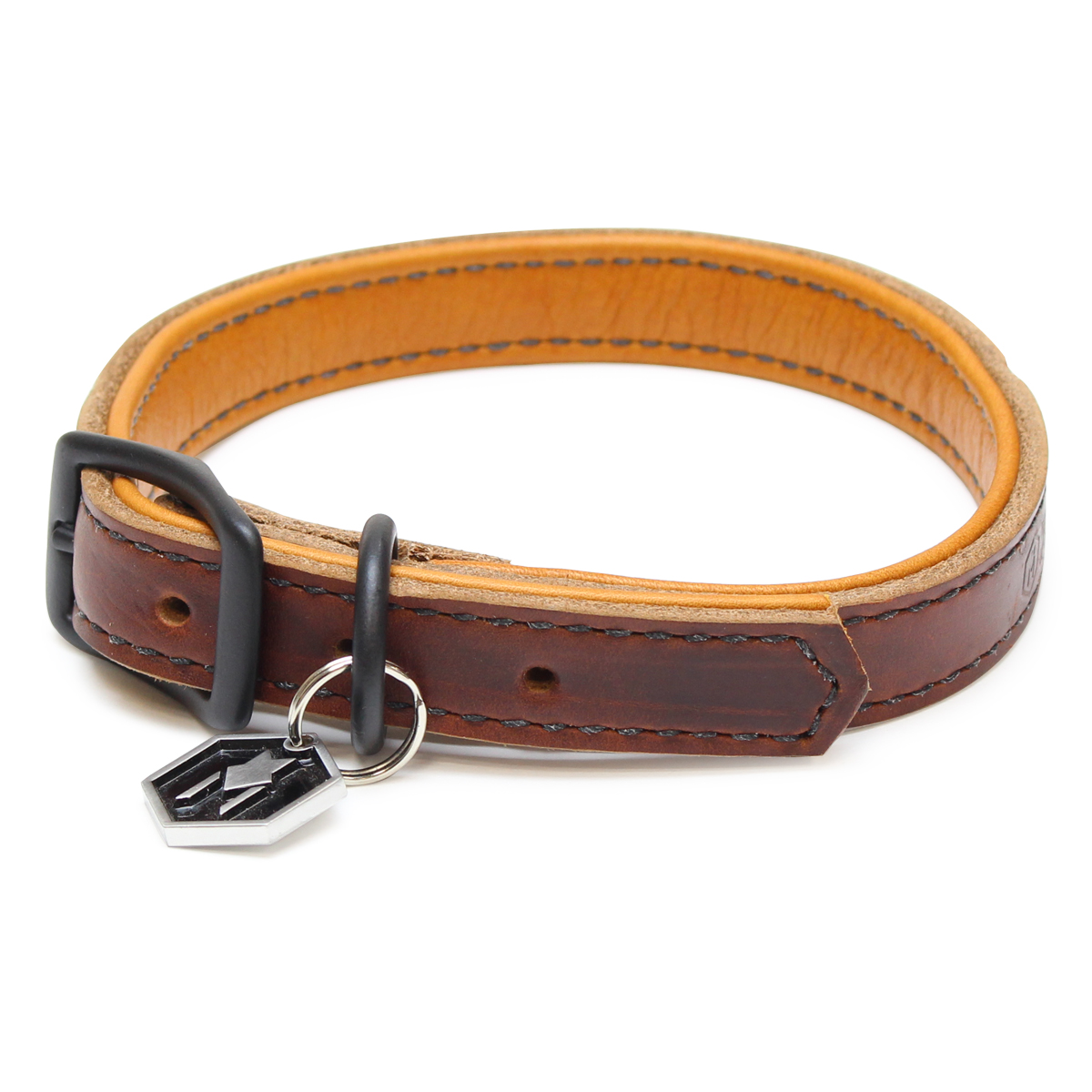 Horween LEATHER COLLAR ( M size )