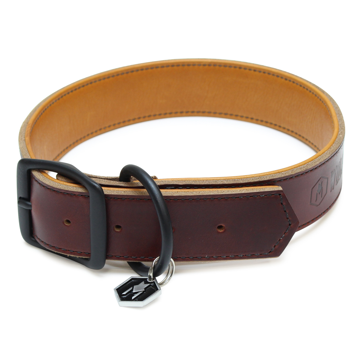 Horween LEATHER COLLAR ( XL size )